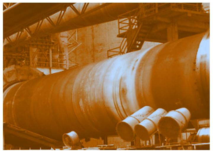 Maintenance et économie d'énergie dans les cimenteries avec les caméras thermographiques industrielles HGH
