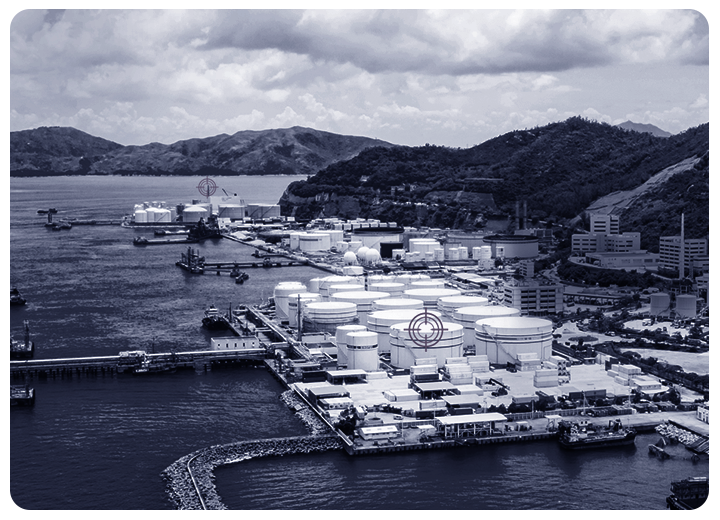 Security and surveillance of ports