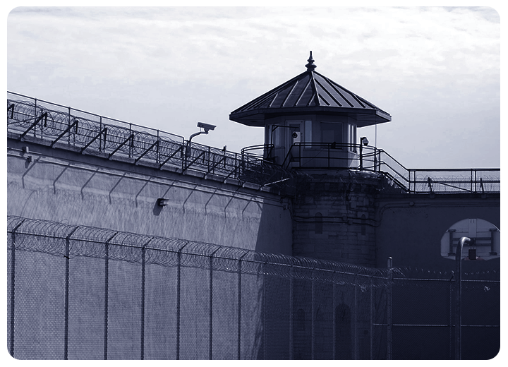 Prison surveillance with Spynel panoramic thermal imaging camera