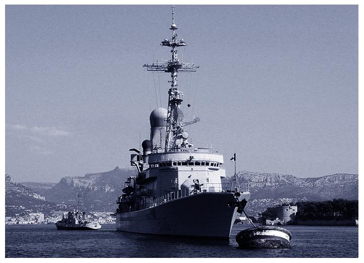 Autoprotection des navires et antipiraterie avec la caméra SPYNEL thermique panoramique SPYNEL
