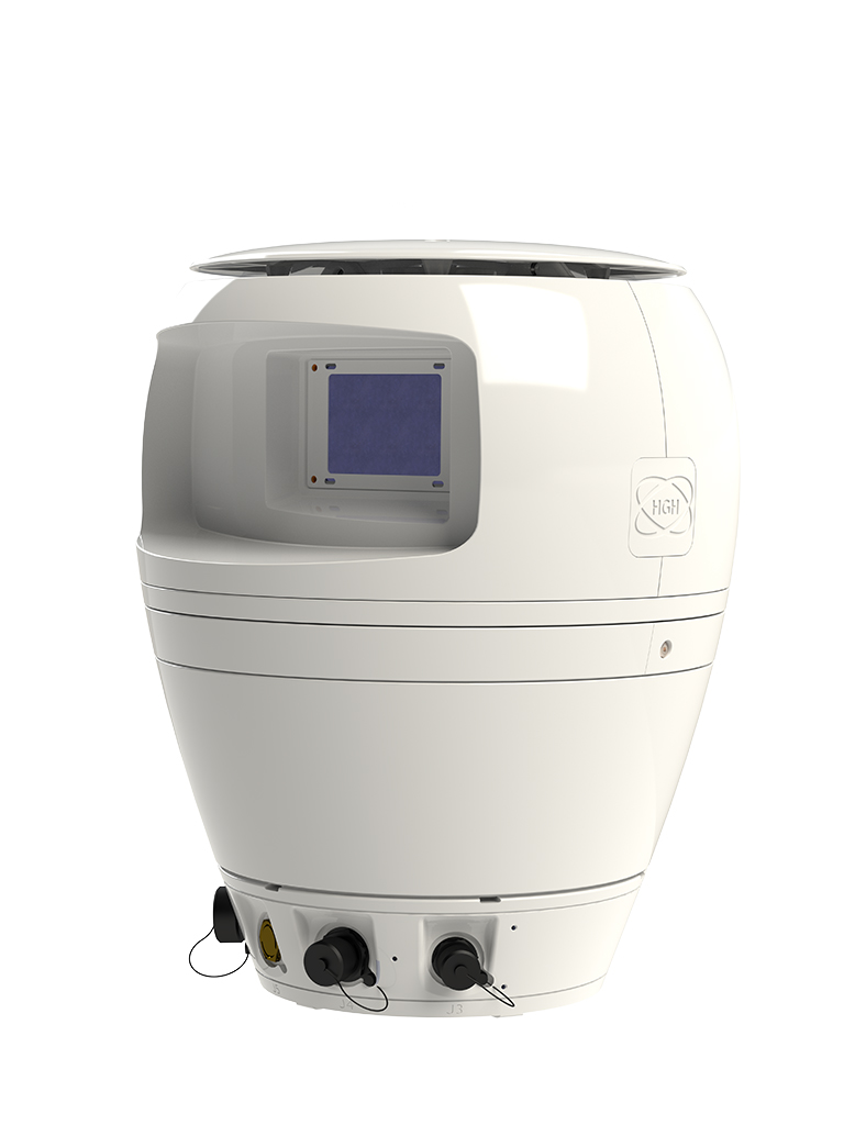 SPYNEL-U VIS and thermal dual channel camera