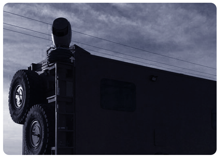 Mobile surveillance, SPYNEL embarked in a vehicule