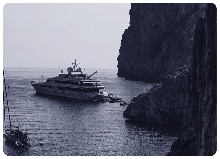 Megayacht security, antiipiracy with SPYNEL thermal imaging cameras