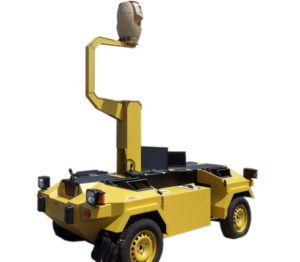 spynel attached to vehicle mobile surveillance