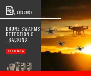Drone swarms detection and tracking read the case study