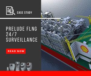 Case study on the 24/7 surveillance of PRELUDE FLNG platform