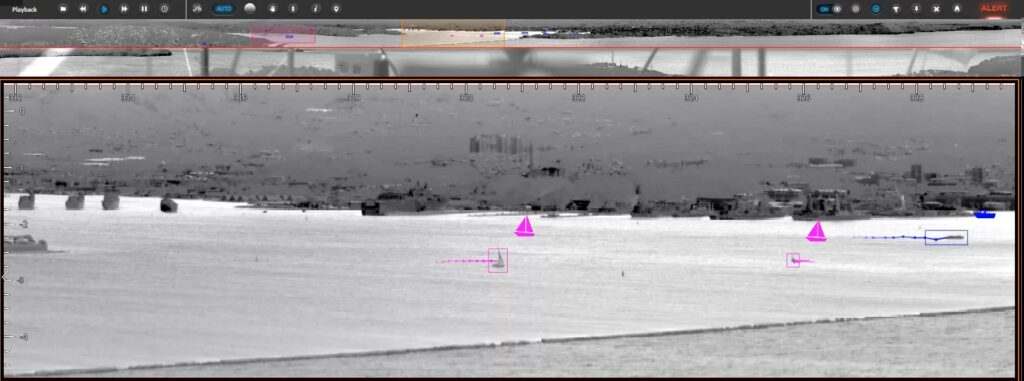 coastal surveillance classification