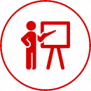 teacher icon red