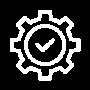maintenance free icon